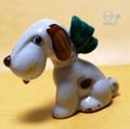 オキュパイドジャパン スヌービー風 犬 磁器人形