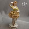 オキュパイドジャパン バレーを踊る娘 磁器人形