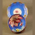 アマリリス手描きC&S (Royal Sealy) 大正から昭和初期の輸出品