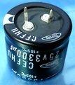 マルコン コンデンサ 25V 3300μF (105℃品) [4個組]