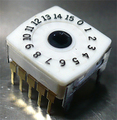 ALPS製 ロータリーエンコーダ 16ポジション SRRQ VG096A [4個組]