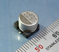 ELNA RV チップ電解コンデンサ (10V/220μF/85℃) [10個組]