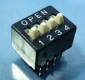 SMK製 DIP SW (ディップスイッチ/4回路タイプ) [4個組]
