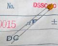 KCK DSSC40SJ セラミックコンデンサ(25V/0.0015μF)[20個組]