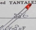 ニチコン S86 TANTALEX タンタルコンデンサ(35V/0.068μF)[10個組]