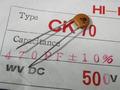 KAWABATA CK70(Hi-K) セラミックコンデンサ 500V 470pF [10個組]