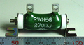東京電音 RWH5G ホーロー抵抗 (270Ω/4W) [2個組]