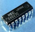 NEC uPD4027C [5個組]
