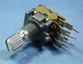 NOBLE 2連ボリューム(可変抵抗) B50KΩ・側面調整 [2個組]