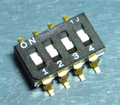 COPAL CFS-0401TB スライドスイッチ [8個組]