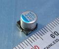 日ケミ PXA チップ電解コンデンサ (6.3V/100μF/105℃)[8個組]