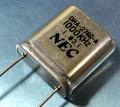 NEC 水晶発振子 1000KHz (1MHz) HC-6/W