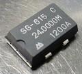 TOYOCOM SG-615 水晶発振器(SPXO) 24MHz [4個組]