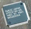 NEC V821・uPD70741GC-25 (32bit CPU/V810命令互換)