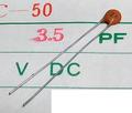 KCK FC-50 セラミックコンデンサ(50V/3.5pF/±0.25pF)[20個組]