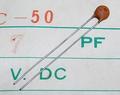 KCK FC-50 セラミックコンデンサ(50V/7pF/±0.25pF)[20個組]