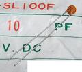 KCK HE40SJ セラミックコンデンサ(50V/10pF/±1pF)[20個組]