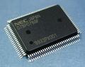 NEC uPD78P078GF-3BA (8bit MCU・D/A・A/D・UART)