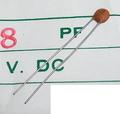 KCK FC-50 セラミックコンデンサ(50V/8pF/±0.5pF)[20個組]
