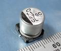 ニチコン UUL1C471MNL1GS チップ電解コンデンサ(16V/470μF/105℃) [10個組]