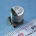 ニチコン UX チップ電解コンデンサ(25V/100μF/105℃)[10個組]
