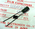 SANWA フィルムコンデンサ 50V 0.0047μF [20個組]