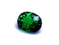 0.93ct 高い透明感と強テリ、ネオン感のある深いグリーンの色彩が美しい 上級品質ケニア産ツァボライト