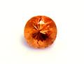 0.33ct カシミール地方産出のオレンジカラーのレアなガーネット パキスタン カシミール産カシミリンガーネット