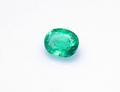 0.22ct大粒 希少な無処理の結晶 高い透明感とテリ コロンビアムソー鉱山産ノンオイルエメラルド