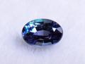 0.10ct 変色石の代名詞 美しいブルーニッシュグリーンの地色 ブラジル産アレキサンドライト