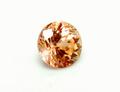 0.73ct UVライトで蛍光!! 優しいオレンジカラー 珍しいカナダ ケベック産UVオレンジグロッシュラーガーネット