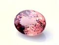 希少・大粒2,03CT 極上の透明感と美色桜ピンクカラーの変色石 タンザニア産シャンパンガーネット