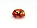 0.24ct カシミール地方産出のオレンジカラーのレアなガーネット パキスタン カシミール産カシミリンガーネット 原石付き