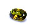 0,67CT ファイアが魅力の変色石 パキスタン産カラーチェンジクロムグリーンスフェーン