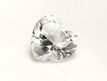 2.86ct 世界一美しいクォーツ(水晶) 透明感抜群!! ハートカット アメリカ産ハーキマーダイヤモンド