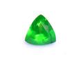 0.29ct 美色!!深くて鮮やかなクロムグリーンの色彩 美しいホーステール 上質ロシア産デマントイドガーネット