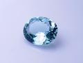 0.74ct 素晴らしいテリと透明感 青みがかったミントカラーの美しさ モザンビーク産ミントトルマリン