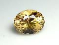 0.92ct UVライトで蛍光!! 煌びやかな黄金色の宝石 メレラニUVゴールデンインペリアルガーネット