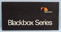 【オーディオ】Nakamichi Blackbox Series