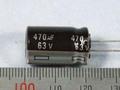 【コンデンサ】470uF/63V ECA-1JHG471 105℃