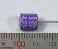 【コンデンサ】150uF/16V 16SA150M,105℃