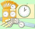 時計の学習セット