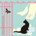 京都あぶらとり紙 猫と町屋(ねことまちや)