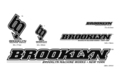 "BROOKLYN MACHIN WORKS STICKER SET ""BLACK/WHITE"""