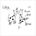 Hi,how are you? - Shy, how are you  CD