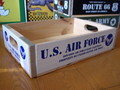【20%OFF!!】WOOD CRATE BOX~U.S.AIR FORCE~