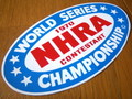 RACING STICKER~NHRA 1970 WORLD SERIES~