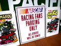 【30%OFF!!】NASCAR RACING FANS PARKIN プレート