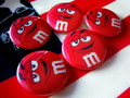 M&M'S 缶バッジ~RED~