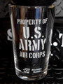 U.S.AIR FORCE GLASS TUMBLER